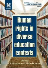 Cover for Human rights in diverse education contexts
