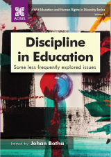 Cover for Discipline in Education: Some less frequently explored issues