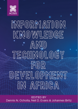 Cover for Information knowledge and technology for Development in Africa