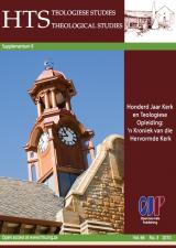 Cover for Honderd Jaar Kerk en Teologiese Opleiding: 'n Kroniek van die Hervormde Kerk